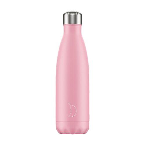 Chilly's Trinkflasche Chilly´s Rosa (500 ml) Für Damen, Accessoires Trinkflaschen