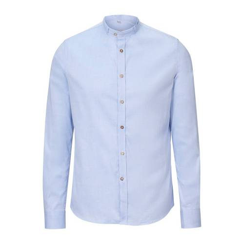 Gottseidank Trachtenhemd LENZ (hellblau   L) Für Herren, Trachten Hemden & Shirts