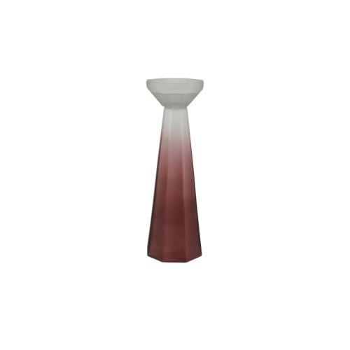 Möbel Kraft Kerzenständer - rot - Glas - Dekoration  Kerzen & Lichter  Kerzenständer - Möbel Kraft