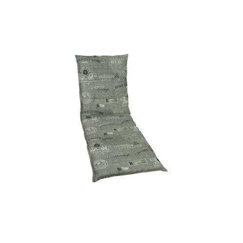 GO-DE Liegenauflage  Enjoy - grau - Garten  Auflagen & Kissen - Möbel Kraft