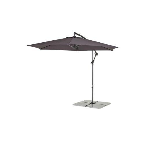Möbel Kraft Ampelschirm - grau - Garten  Sonnenschutz  Ampel Sonnenschirme - Möbel Kraft