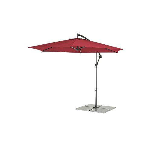 Möbel Kraft Ampelschirm - rot - Garten  Sonnenschutz  Ampel Sonnenschirme - Möbel Kraft