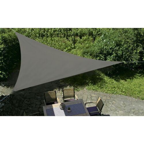 GO-DE Sonnensegel, 3-eckig - grau - Garten  Sonnenschutz  Sonnenschirme - Möbel Kraft