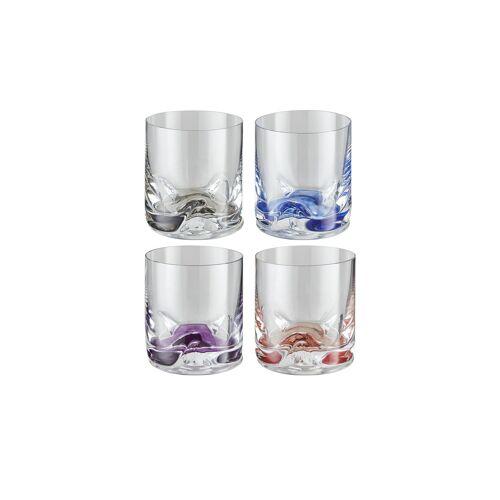 Peill+Putzler Whiskygläser, 4er-Set - mehrfarbig - Kristallglas - Geschenkideen  Geschenke für Ihn - Möbel Kraft