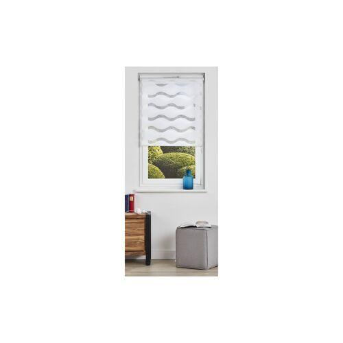 Möbel Kraft Doppelrollo - weiß - Polyester - Gardinen & Vorhänge  Rollos & Sonnenschutz  Rollos - Möbel Kraft