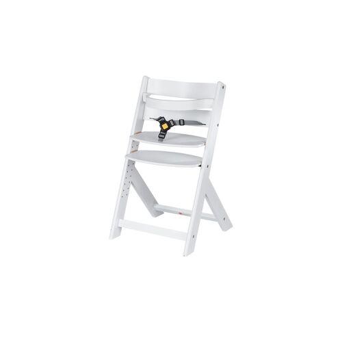 Schardt Treppenhochstuhl  Domino - weiß - Buche massiv - Baby  Babymöbel  Hochstühle - Möbel Kraft