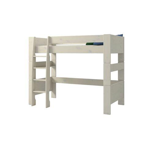Möbel Kraft Hochbett - weiß - Kindermöbel  Kinderbetten  Hochbetten - Möbel Kraft