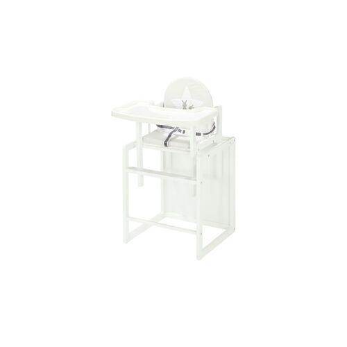 Roba Kombihochstuhl - weiß - Baby  Babymöbel  Hochstühle - Möbel Kraft