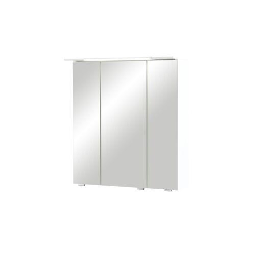 smart Bad-Spiegelschrank - weiß - Schränke  Badschränke  Spiegelschränke - Möbel Kraft