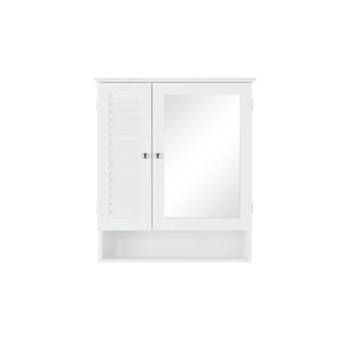 uno Spiegelschrank - weiß - Schränke  Badschränke  Spiegelschränke - Möbel Kraft