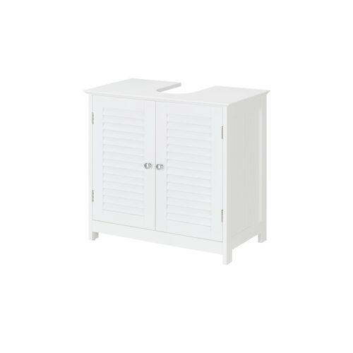 uno Waschbeckenunterschrank - weiß - Schränke  Badschränke  Waschbeckenunterschränke - Möbel Kraft