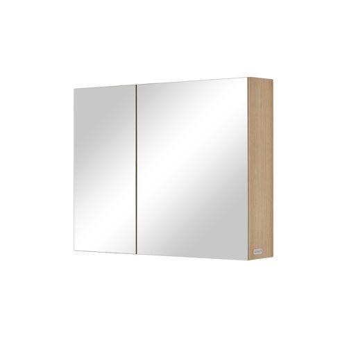 Wohnwert Spiegelschrank  Capri - weiß - Schränke  Badschränke  Spiegelschränke - Möbel Kraft