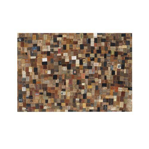 Möbel Kraft Lederteppich - braun - Rindsleder / Kuhhaut - Teppiche  Wohnteppiche  Naturteppiche - Möbel Kraft
