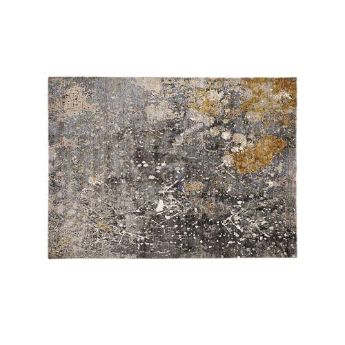Möbel Kraft Kurzflorteppich - grau - Viskose - Teppiche  Wohnteppiche  Kurzflorteppiche - Möbel Kraft