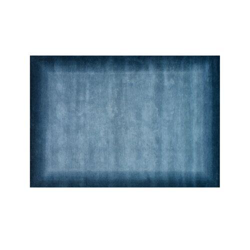 Möbel Kraft Handgeknüpfter Naturteppich - blau - Wolle - Teppiche  Wohnteppiche  Naturteppiche - Möbel Kraft