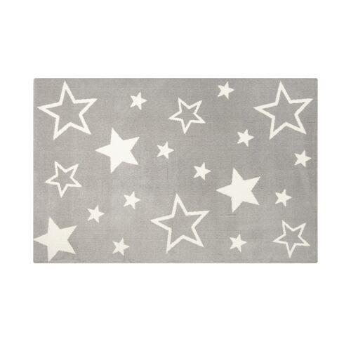 HOME STORY Kinderteppich  Kiddy Star - grau - Synthethische Fasern - Teppiche  Kinderteppiche - Möbel Kraft