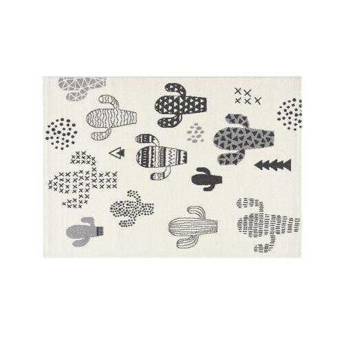 Möbel Kraft Kinderteppich - weiß - Synthethische Fasern - Teppiche  Kinderteppiche - Möbel Kraft