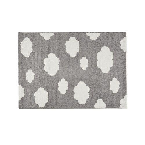 Uups Kinderteppich  Wolken - grau - Synthethische Fasern - Teppiche  Kinderteppiche - Möbel Kraft