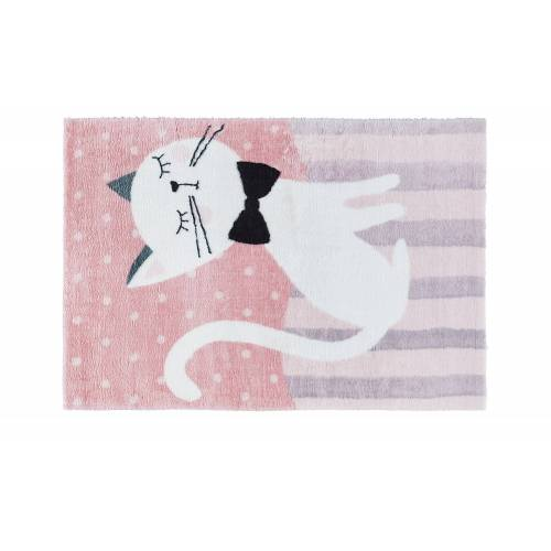 Möbel Kraft Kinderteppich   Kinderteppich - rosa/pink - Synthethische Fasern - Teppiche  Kinderteppiche - Möbel Kraft