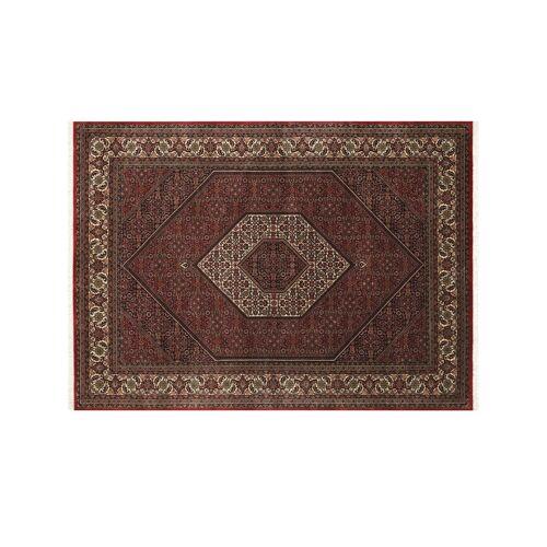 Möbel Kraft Handgeknüpfter Kurzflorteppich - rot - Wolle - Teppiche  Wohnteppiche  Orient-Teppiche - Möbel Kraft