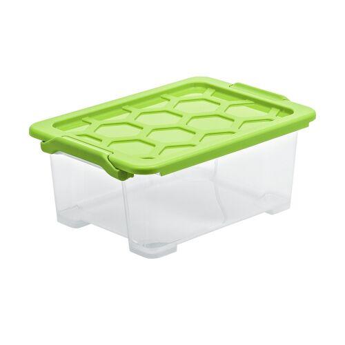 Rotho Aufbewahrungsbox mit Deckel - grün - Kunststoff - Aufbewahrung  Aufbewahrungsboxen - Möbel Kraft