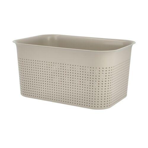 Rotho Aufbewahrungsbox - beige - Kunststoff - Aufbewahrung  Aufbewahrungsboxen - Möbel Kraft