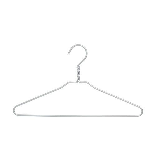Möbel Kraft Bügel - silber - Metall - Aufbewahrung  Wäscheaufbewahrung - Möbel Kraft