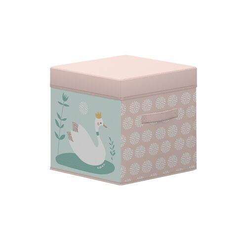 FLEXA Aufbewahrungskiste (1 Stück)  Flexa - rosa/pink - Webstoff (100% Baumwolle) - Aufbewahrung  Aufbewahrungsboxen - Möbel Kraft