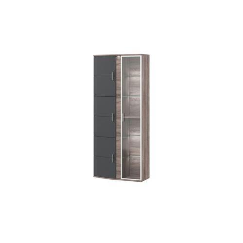 uno Vitrine  Onyx - 96 cm - 218 cm - 41 cm - Kommoden & Sideboards  Vitrinen - Möbel Kraft