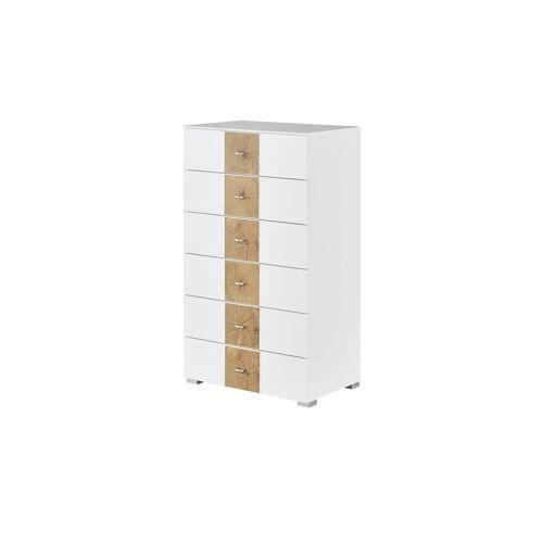 uno Kommode - weiß - Kommoden & Sideboards  Kommoden - Möbel Kraft