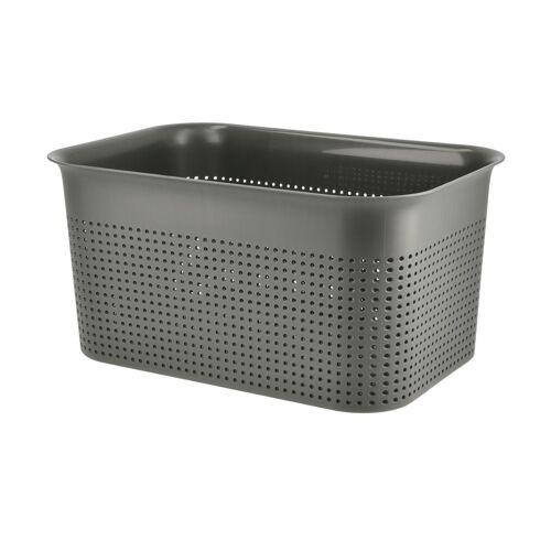 Rotho Aufbewahrungsbox - grau - Kunststoff - Aufbewahrung  Aufbewahrungsboxen - Möbel Kraft