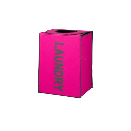 Möbel Kraft Wäschebox - rosa/pink - Leinen - Aufbewahrung  Wäscheaufbewahrung - Möbel Kraft