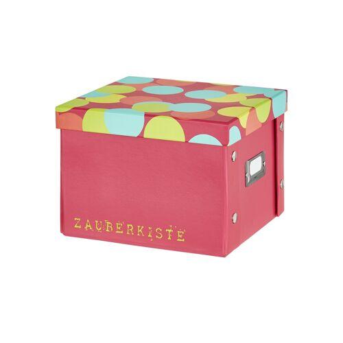 Möbel Kraft Pappbox  Zauberkiste - rosa/pink - Pappe, Metall - Aufbewahrung  Aufbewahrungsboxen - Möbel Kraft