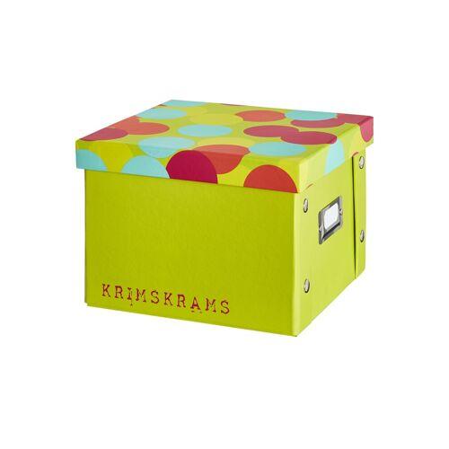 Möbel Kraft Pappbox  Krimskrams - grün - Metall, Pappe - Aufbewahrung  Aufbewahrungsboxen - Möbel Kraft