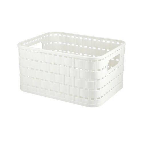 Rotho Aufbewahrungsbox - weiß - Kunststoff - Aufbewahrung  Aufbewahrungsboxen - Möbel Kraft