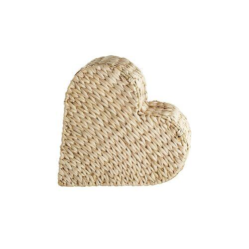 Möbel Kraft Aufbewahrungskorb  Herz - braun - Aufbewahrung  Aufbewahrungsboxen - Möbel Kraft