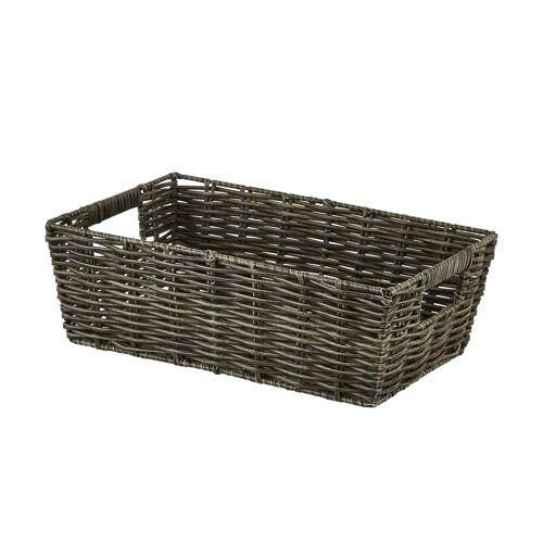 Möbel Kraft Aufbewahrungskorb - grau - Kunststoff - Aufbewahrung  Aufbewahrungsboxen - Möbel Kraft