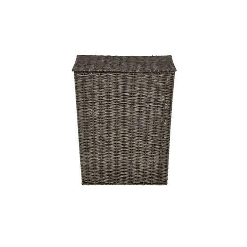 Möbel Kraft Wäschekorb mit Deckel - braun - Aufbewahrung  Wäscheaufbewahrung - Möbel Kraft