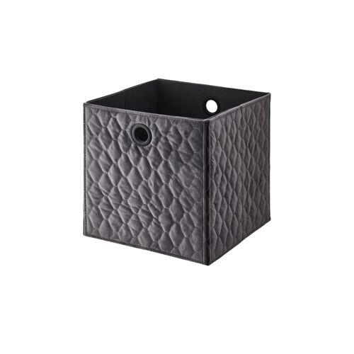 Möbel Kraft Aufbewahrungsbox - grau - Pappe, Samt - Aufbewahrung  Körbe - Möbel Kraft