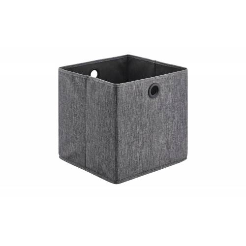 Möbel Kraft Aufbewahrungsbox - grau - Pappe, Polyester - Aufbewahrung  Aufbewahrungsboxen - Möbel Kraft