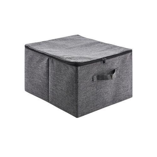 Möbel Kraft Aufbewahrungsbox - grau - Metall, Polyester - Aufbewahrung  Aufbewahrungsboxen - Möbel Kraft