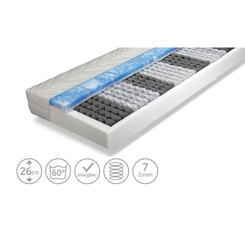 Möbel Kraft Taschenfederkernmatratze - weiß - Matratzen & Lattenroste  Matratzenarten  Federkernmatratzen - Möbel Kraft