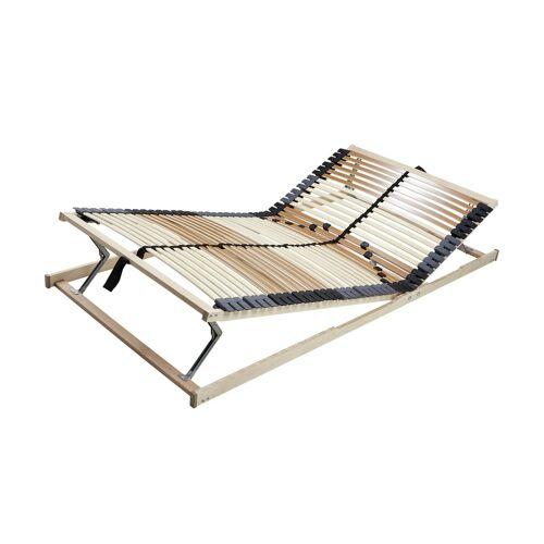 Möbel Kraft Lattenrost mit Kopf- und Fußverstellung - holzfarben - Matratzen & Lattenroste  Lattenroste  Lattenroste starr - Möbel Kraft
