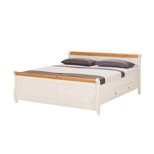 Möbel Kraft Bettgestell - weiß - Betten  Bettgestelle - Möbel Kraft