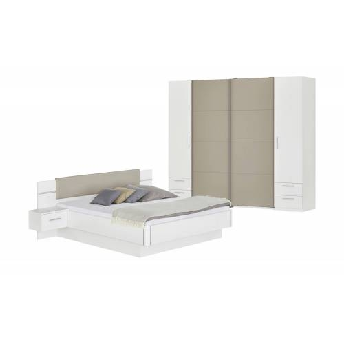 uno Schlafzimmer - weiß - Komplett-Schlafzimmer - Möbel Kraft