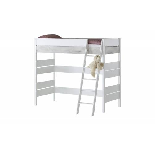 PAIDI Hochbett  Kira - weiß - Kindermöbel  Kinderbetten  Hochbetten - Möbel Kraft