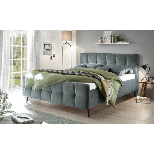 uno Polsterbettgestell - grau - Betten  Bettgestelle - Möbel Kraft
