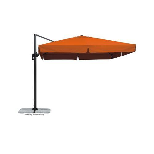 Möbel Kraft Ampelschirm  Teneriffa - orange - Garten  Sonnenschutz  Ampel Sonnenschirme - Möbel Kraft