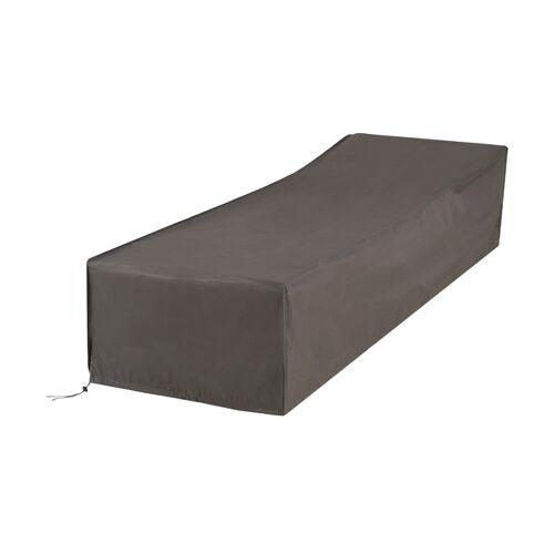Möbel Kraft Schutzhülle für Sonnenliegen - grau - Garten  Garten-Zubehör  Gartenmöbel Schutzhauben - Möbel Kraft