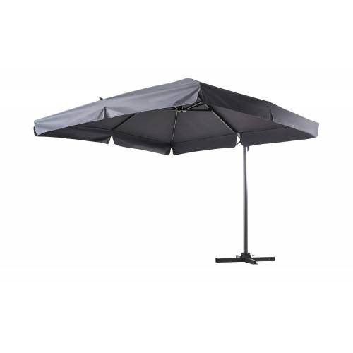 Möbel Kraft Ampelschirm  Teneriffa - grau - Garten  Sonnenschutz  Ampel Sonnenschirme - Möbel Kraft